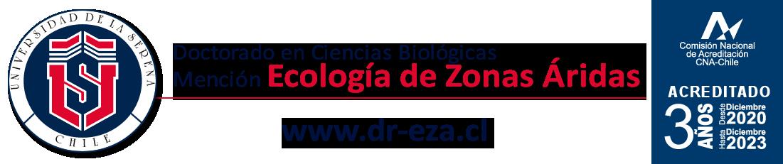 Doctorado en Ciencias Biológicas, mención Ecología de Zonas Áridas